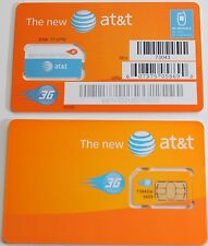 NEW AT&T PREPAID/POSTPAID 3G SIM CARD. SKU 73043/71247. Unactivated