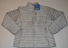NWT Womens Grey  Patagonia Ultralight 800 fill down Jacket $299  Size Medium