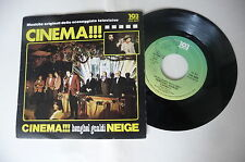 "HENGHEL GUALDI ""CINEMA!!!- 45gg 103 it 1979"" SIGLA TV-PERFETTO"