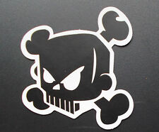 "Sticker Aufkleber Matt-Optik ""Skull"" Laptop,Smartphone,Skateboard, Stickerbomb"