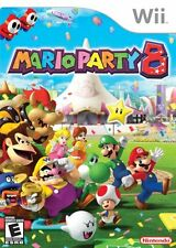 Mario Party 8 Eight (Nintendo Wii , Video Game Kids Family Fun) Brand NEW