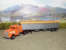 ERTL, International Truck Trailer, Orange , Not Boxed