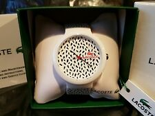 LACOSTE - Goa Watch - Leopard Print - Black & White - RRP £64.99 - Read Listing*