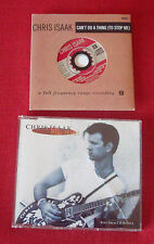 2 CHRIS ISAAK CD singles - Blue Hotel (W0005CD) AND Can't Do a Thing (W0161CD2)