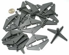 12pc TYCO TCR Total Control Racing Slot Car #2 TRACK ELEVATION BRIDGE SUPPORTS