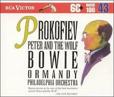 Prokofiev Peter and the Wolf (narrated by David Bowie)  (CD 1994)