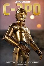 "Star Wars C-3PO 1/6 12"" Sixth Scale action Figure By Sideshow Collectibles"