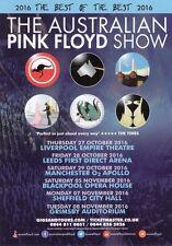 THE AUSTRALIAN PINK FLOYD SHOW - PROMOTIONAL FLYER!!!