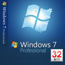 Microsoft Windows 7 Professional SP1 32-Bit INSTALL/REPAIR/UPGRADE Digital* DVD!