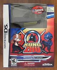 Nintendo DS Game KUNG ZHU Bundle Set FREE Exclusive LTD TULL SAMURAI Hamster Pet