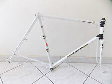 CADRE + FOURCHE VÉLO COURSE ANCIEN PEUGEOT CYCLE FRANCE / VINTAGE FRENCH FRAME