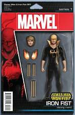 Power Man & Iron Fist #1 Action Figure Variants + Skottie Young Baby Marvel 2016