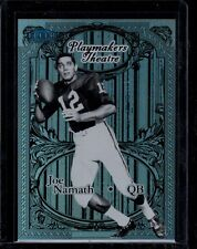 2012 FLEER PLAYMAKERS THEATRE JOE NAMATH CRIMSON TIDE / JETS SERIAL #ed 16/100