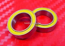 [QTY 2] S6800-2RS (10x19x5 mm) CERAMIC 440c S.Steel Ball Bearing 6800RS ABEC-5
