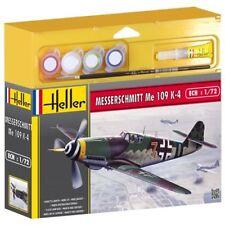 MODEL KIT GIFT SET HEL50229G - Heller 1:72 Gift Set - Messerschmitt ME 109 K-4