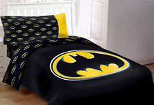 DC Comics Batman Kids Comforter Bed Set 4pcs Twin Size