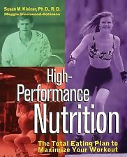 Susan M Kleiner - High Performance Nutrition (1996) - Used - Trade Paper (P