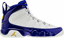 Air Jordan 9 Retro Kobe Gs Big Kids 302359-121 Tour Yellow Concord Shoes Sz 5.5