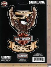 Harley Davidson Motorcycle Eagle Logo Emblem Decal Car Truck Window Sticker 9917