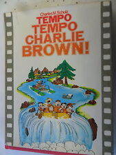 Charles M. Schulz - Tempo Temop Charlie Brown - Peanuts - Hardcover - Z. gut