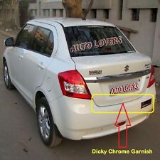 ★PremiumQuality Rear Trunk Dicky Chrome Trim/Garnish for Maruti Swift Dzire OLD★