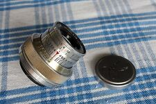 "Industar-22 early Red ""P"" 3,5 5cm Soviet lens for rangefinder Zorki, FED m39"
