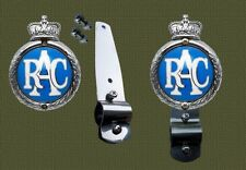 Stainless Bracket to fit Royal Automobile Club RAC Badge to Desmo type Badge Bar