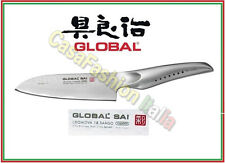 GLOBAL SAI COLTELLO SANTOKU CM 13 /26 M03 MARTELLATO PROFESSIONALE 152119 JAPAN