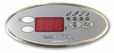 SpaPower or SpaQuip Oval Touchpad to suit SP400/500/601 Spa Controller