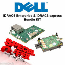 Dell iDrac 6 Express + iDrac 6 Enterprise BUNDLE KIT K869T JPMJ3 R210 R310 R410