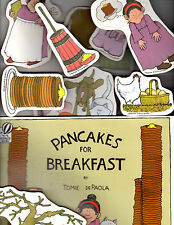 Lakeshore Learning-Pancakes for Breakfast-Storytelling Kit-Book and Pictures