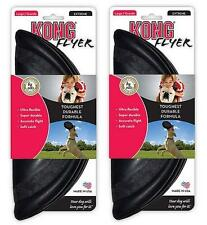 2 x NEW Kong Extreme Flyer Durable Frisbee Throw & Fetch Dog Toy