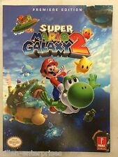 Super Mario Galaxy 2 Premiere Edition Prima Official Guide Nintendo 2010