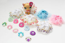 16 Mixed Accessories Skirts, Necklaces & Headbands For LPS Littlest Pet Shop