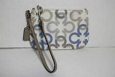 COACH F48898 MULTI COLOR CLOVER PRINT SMALL WRISTLET NEW NWT