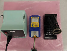 WELLER WTCPT SOLDERING STATION W/ STAND & SOLDERING IRON PENCIL *TESTED*