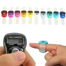 5 xLCD DIGITAL FINGER RING TALLY COUNTER Knitting Row counter CLICKER TASBEEH