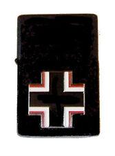 German Panzer Tiger Tank Luftwaffe Fighter War Battle Cross Emblem Black Lighter