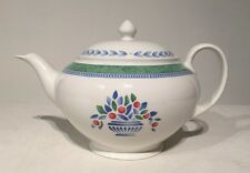 Johnson Brothers Teapot Jardiniere Green 6 cup Made In England