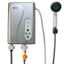 Tankless Electric Instant Hot Water Heater Bathroom Heating System Shower Kits