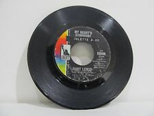 """45 RECORD 7"""" GARY LEWIS AND PLAYBOYS- MY HEART'S SYMPHONY"""