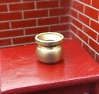 """Pair Of Diecast """"Brass"""" Spittoons (2 Pc) Miniature 1/24 Scale G Diorama Items"""