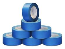 5.6 Mil 3 Inch x 60 Yards Blue Painter Adhesive Masking Tape 16 Rolls / Case