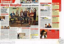 Coupure de Presse Clipping 2010 Serie Mercy Hospital