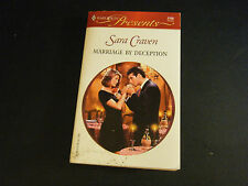 Harlequin Presents: Marriage by Deception by Sara Craven (2001, Paperback)