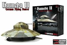 "Haunebu II, 14"" German Flying Saucer secret weapon, 1/72 model kit Squadron 0001"