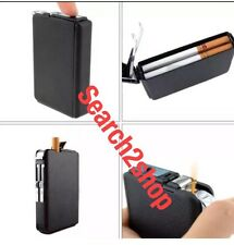 Double Ejection Cigarette Lighter Case Box Holder Windproof Dispen New Liverpool