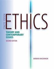 Ethics : Theory and Contemporary Issues, Concise Edition by Barbara MacKinnon...