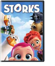 NEW - Storks DVD (2016) BRAND NEW* Kids, Animation, Adventure* SHIPPING !