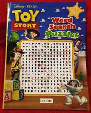 Disney Pixar Toy Story Word Search Puzzles Book Magazine Buzz Woody